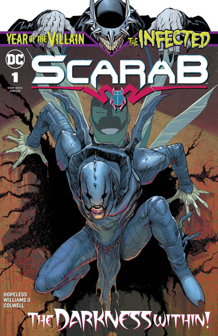 DC Infected #1 Scarab