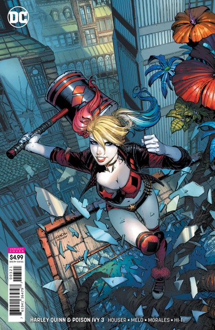 DC Harley Quinn & Poison Ivy #3 of 6 Comic Book [David Finch Harley Quinn Variant Cover]