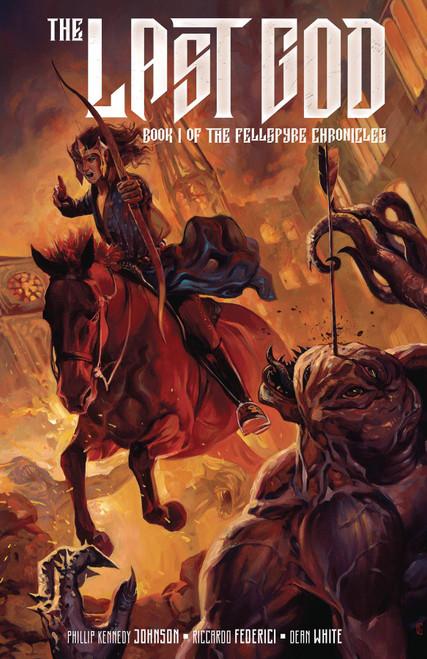 DC Black Label The Last God #2 Comic Book