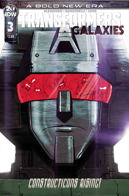 IDW Transformers Galaxies #3 Comic Book
