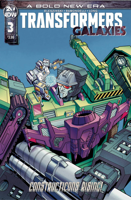 IDW Transformers Galaxies #3 Comic Book [Winston Chan Variant Cover]
