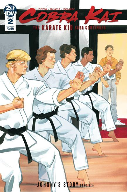 IDW Cobra Kai Karate Kid Saga Continues #2 of 4 Comic Book