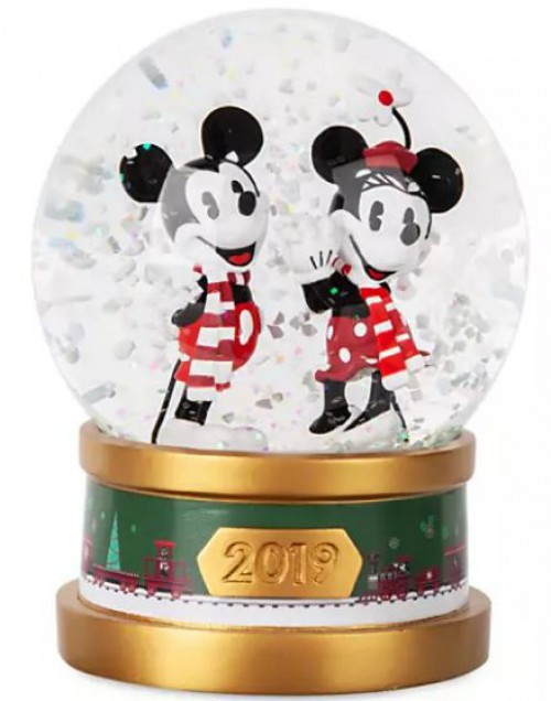 Disney 2019 Mickey Mouse & Minnie Mouse Exclusive Snow Globe