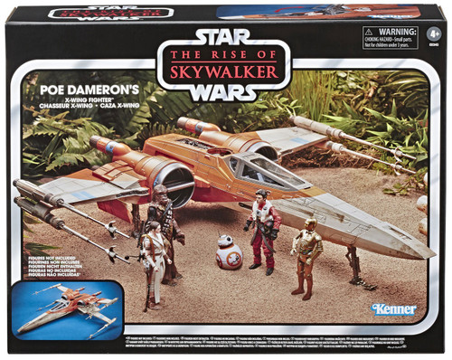 Star Wars The Rise of Skywalker Vintage Collection Poe Dameron's X-Wing Fighter 3.75-Inch Vehicle