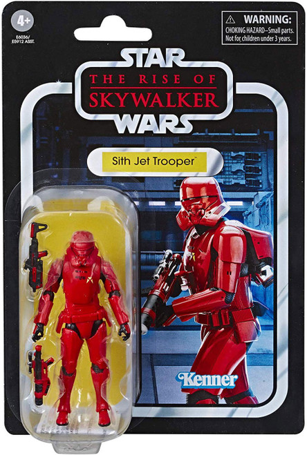 Star Wars The Rise of Skywalker Vintage Collection Wave 23 Sith Jet Trooper Action Figure
