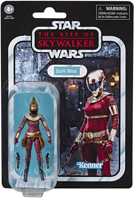 Star Wars The Rise of Skywalker Vintage Collection Wave 23 Zorii Bliss Action Figure
