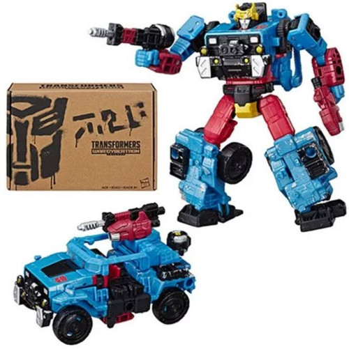 Transformers Generations Selects Hot Shot Deluxe Action Figure WFC-GS09