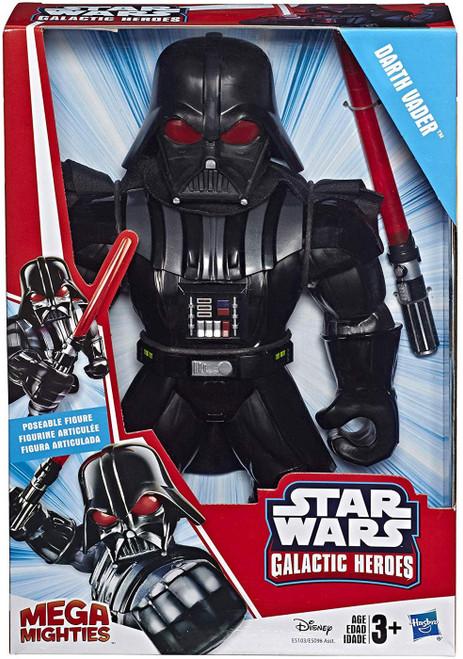 Star Wars Galactic Heroes Mega Mighties Darth Vader Action Figure