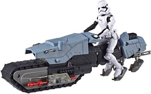 Star Wars The Rise of Skywalker Galaxy of Adventures First Order Driver & Treadspeeder Vehicle & Action Figure