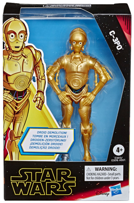 Star Wars The Rise of Skywalker Galaxy of Adventures C-3PO Action Figure