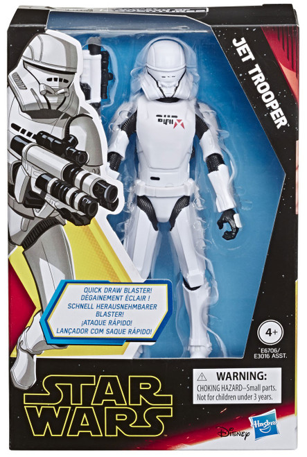Star Wars The Rise of Skywalker Galaxy of Adventures Jet Trooper Action Figure