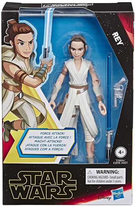 Star Wars The Rise of Skywalker Galaxy of Adventures Rey Action Figure