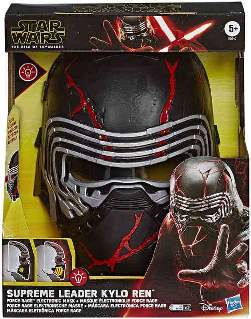 Star Wars The Rise of Skywalker Supreme Leader Kylo Ren Force Rage Electronic Mask