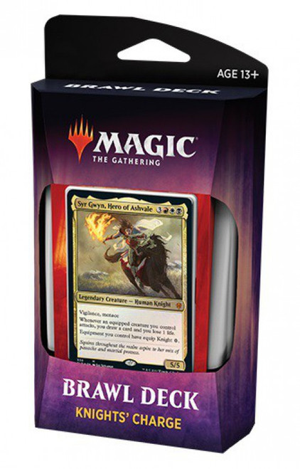 MtG Trading Card Game Throne of Eldraine Knights' Charge Brawl Deck