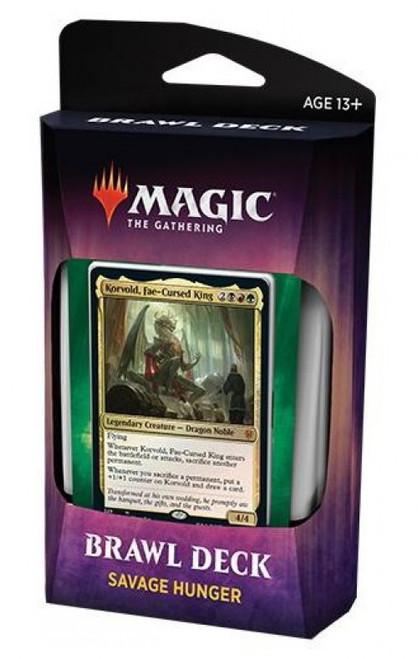 MtG Trading Card Game Throne of Eldraine Savage Hunger Brawl Deck