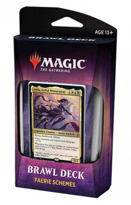 MtG Trading Card Game Throne of Eldraine Faerie Schemes Brawl Deck