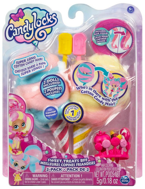 Candylocks Sweet Treats BFF Kerry Berry & Beau Nana 2-Pack