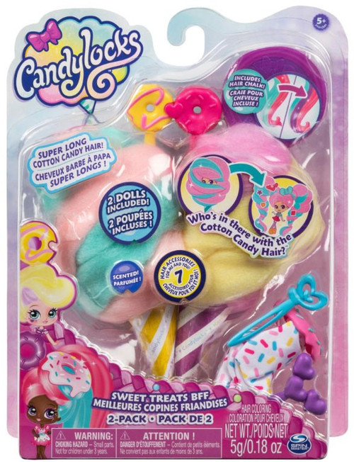 Candylocks Sweet Treats BFF Jilly Jelly & Donna Nut 2-Pack