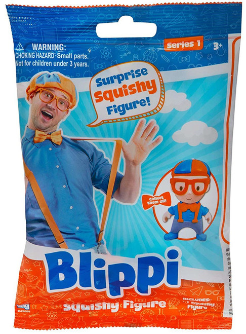 Blippi Series 1 Squishy Figure Mystery Pack