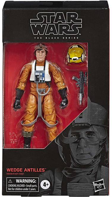 Star Wars The Empire Strikes Back Black Series Wave 34 Wedge Antilles Action Figure