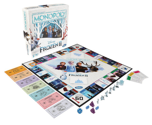 Disney Frozen 2 Monopoly Board Game
