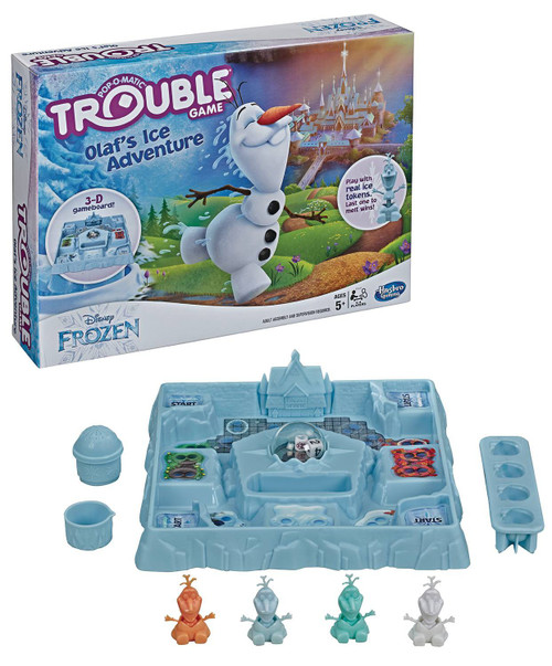 Frozen 2 Trouble Disney Frozen Olaf's Ice Adventure Board Game