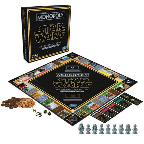 Star Wars Monopoly Board Game [Saga Edition]