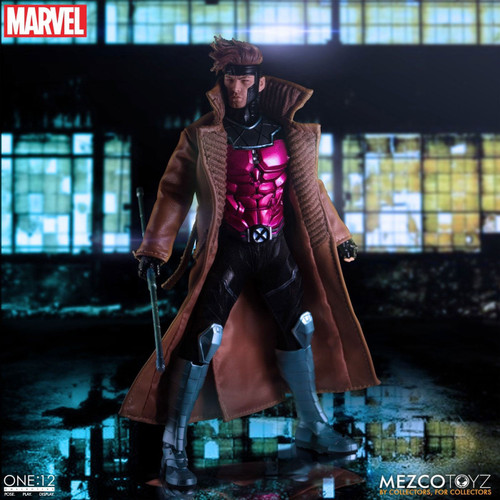 Marvel One:12 Collective Gambit Action Figure [X-Men]