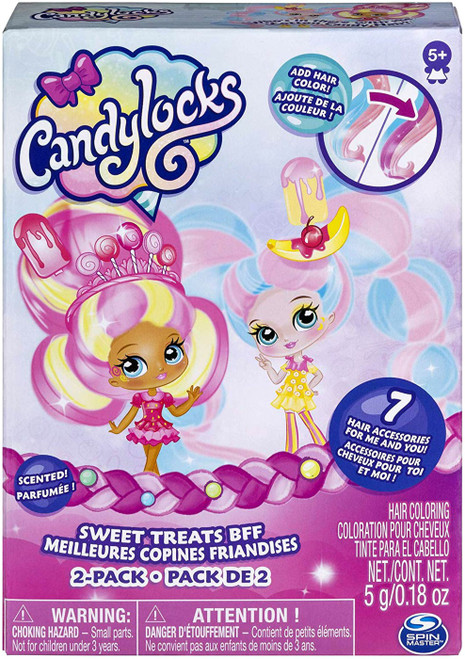 Candylocks Sweet Treats BFF Kerry Berry & Beau Nana 2-Pack [Version 2]