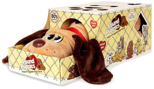 Pound Puppies Light Brown with Dark Brown Spots Plush