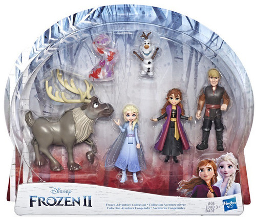 Disney Frozen 2 Frozen Adventure Collection 4-Inch 5-Pack Set