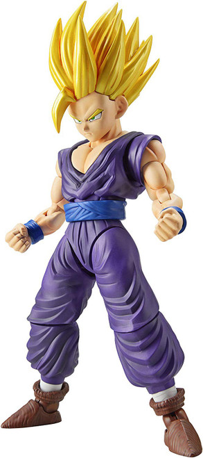 Dragon Ball Z Figure-Rise Standard Super Saiyan 2 Son Gohan 4.9-Inch Model Kit Figure [New Package Version]