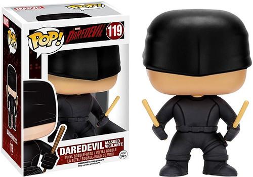 Funko POP! Marvel Daredevil Masked Vigilante Vinyl Bobble Head #119 [Damaged Package]