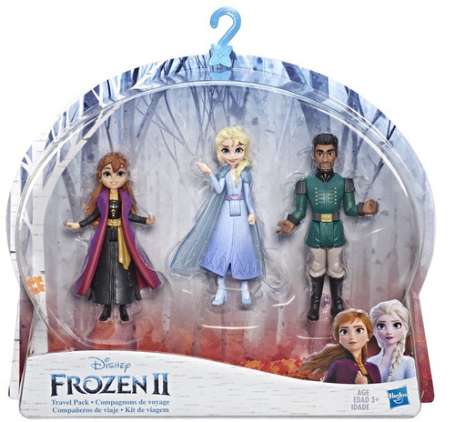 Disney Frozen 2 Elsa, Anna, & Mattias Travel Pack Small Dolls 3-Pack