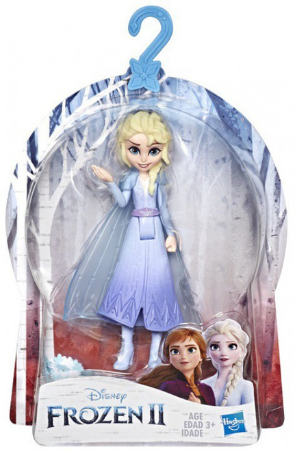 Disney Frozen 2 Elsa with Removable Cape Small Doll