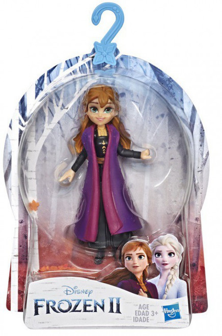 Disney Frozen 2 Anna with Removable Cape Small Doll