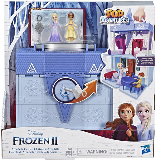 Disney Frozen 2 Pop Adventures Arendelle Castle Playset [Includes Elsa & Anna Figures]
