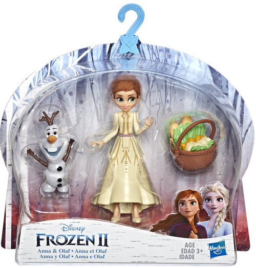 Disney Frozen 2 Anna & Olaf Small Dolls 2-Pack