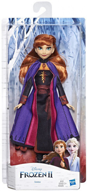 Disney Frozen 2 Anna with Long Red Hair & Outfit Fashion Doll
