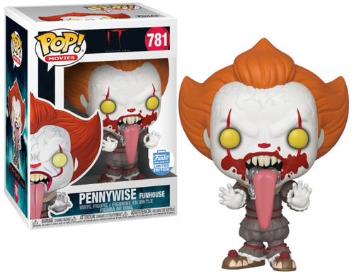 Funko IT Movie Chapter 2 POP! Movies Pennywise Exclusive Vinyl Figure #781 [Funhouse]