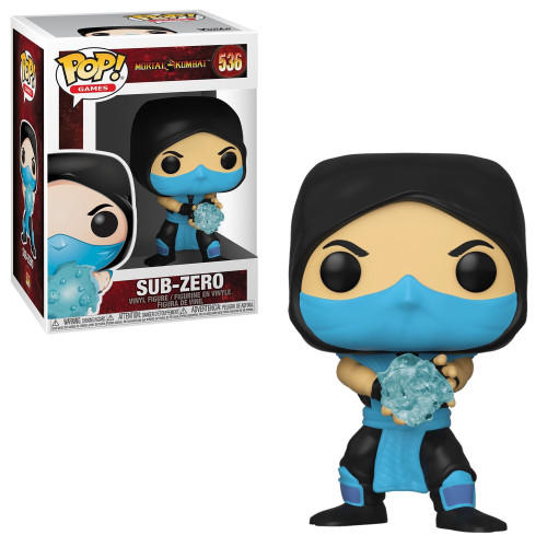 Funko Mortal Kombat Pop! Games Sub-Zero Vinyl Figure #536