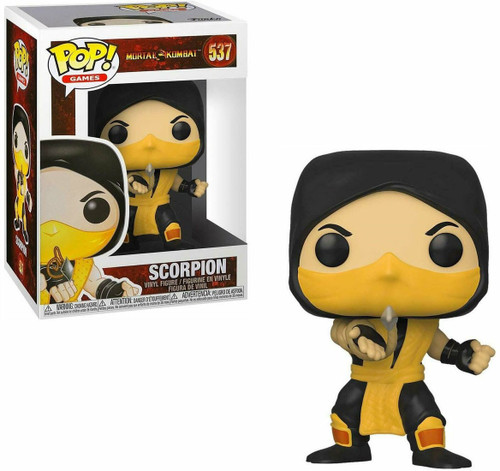 Funko Mortal Kombat Pop! Games Scorpion Vinyl Figure #537