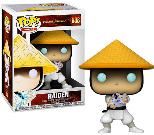 Funko Mortal Kombat Pop! Games Raiden Vinyl Figure #538