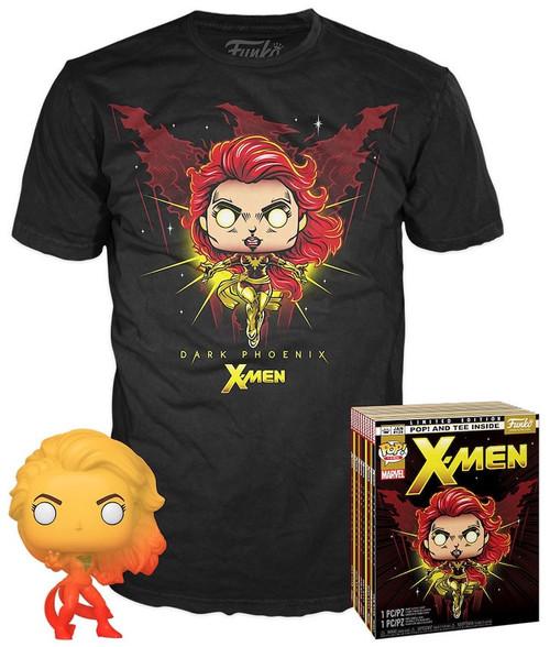 Funko X-Men POP! Marvel Dark Phoenix Exclusive Vinyl Figure & T-Shirt [X-Large]