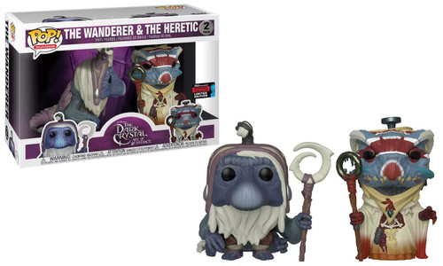 Funko The Dark Crystal Age of Resistance POP! TV The Wanderer & The Heretic Exclusive Vinyl Figure 2-Pack