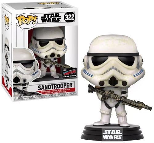 Funko POP! Star Wars Sandtrooper Exclusive Vinyl Bobble Head #322