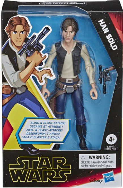 Star Wars The Rise of Skywalker Galaxy of Adventures Han Solo Action Figure