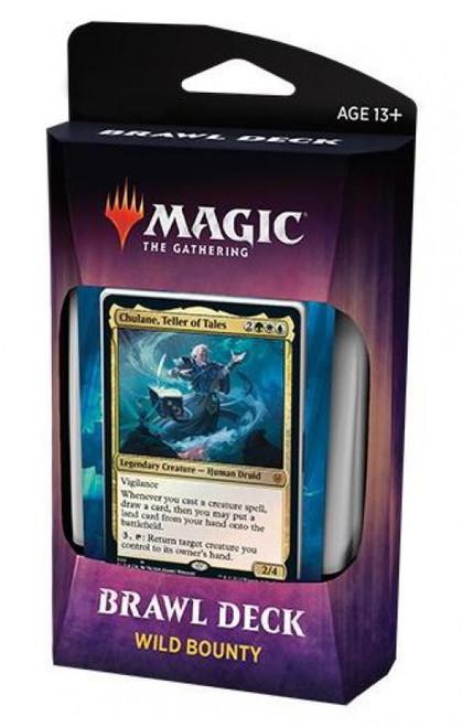 MtG Trading Card Game Throne of Eldraine Wild Bounty Brawl Deck