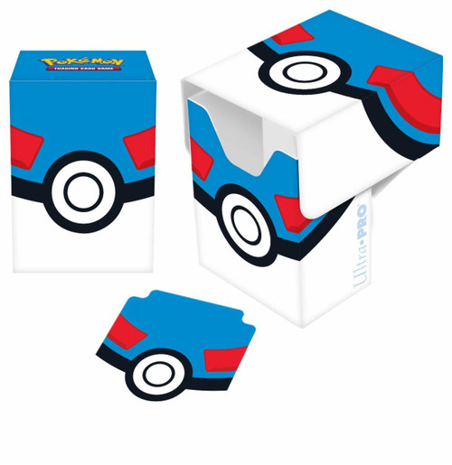 Ultra Pro Pokemon Trading Card Game Card Supplies Great Ball Deck Box