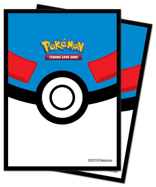 Ultra Pro Pokemon Trading Card Game Great Ball Card Sleeves [65 Count]